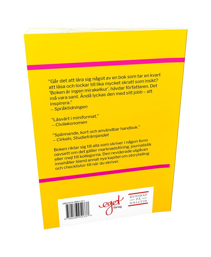 En bok med skrivtips för att skriva klarspråk