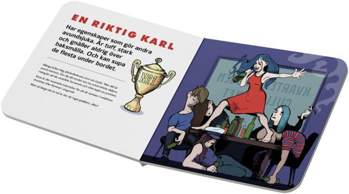Pekbok för småfulla, en bok om alkohol skriven av Anna Sjöström