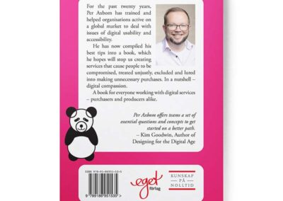 Back of the book Digital Compassion