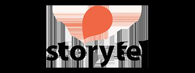 Lyssna till och läs våra böcker hos Storytel