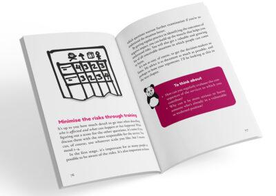 Uppslag från boken Digital compassion
