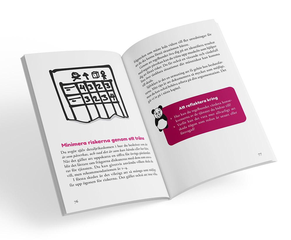 Uppslag från boken Digital omtanke
