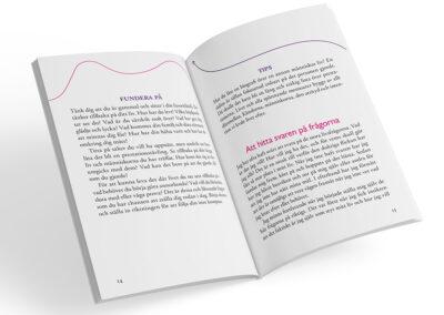 Uppslag från boken Extra allt