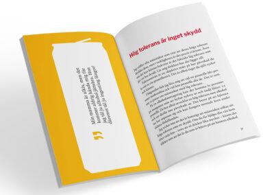 Uppslag från boken Glasklart - drick smartare