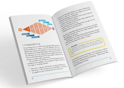Uppslag från boken Kreativ på jobbet