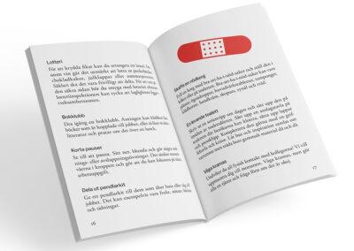 Uppslag från boken Matlåderoulette