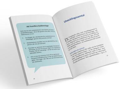 Uppslag från boken Utvecklingssamtal
