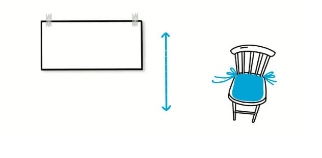 Alla kan texta snyggt - Vill du sitta på en stol eller rita på ett papper på väggen?