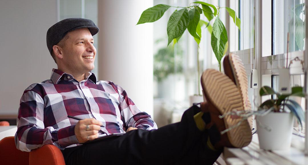 Föreläsaren och författaren David Stavegård, som skrivit boken Excel helt enkelt
