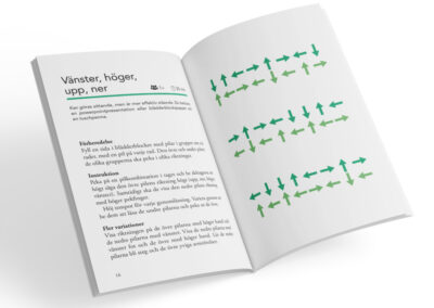 Uppslag från boken Teambuilding - 40 enkla recept på effektiva lagövningar, av Jenny Åkerblom
